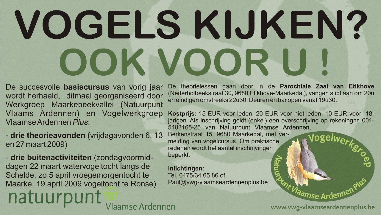 Vlaams Ardennen) en